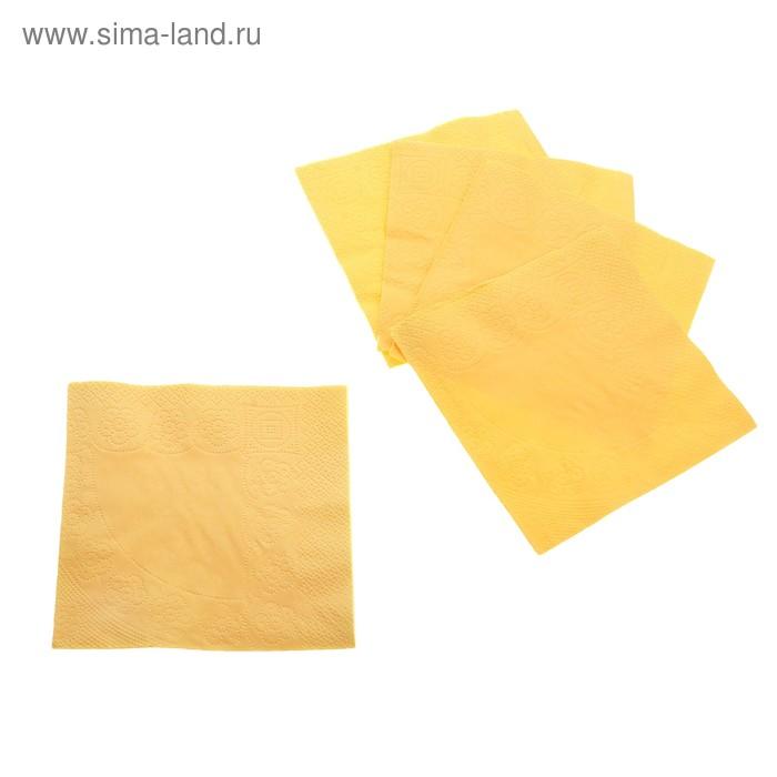 Салфетки Нега 50 листов 2сл желтые/81