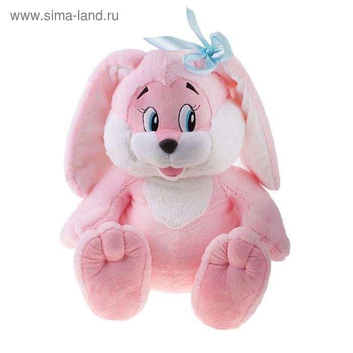 Мягкая игрушка «Зайчик», цвет розовый
