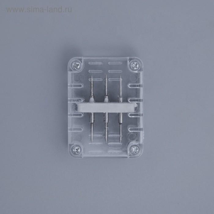 Коннектор для дюралайта 11*18 мм, 3W, прямой