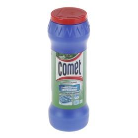 """Порошок чистящий Comet с дезинфицирующими свойствами """"Сосна"""" с хлоринолом, 475г"""