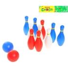 """Набор игровой """"Боулинг"""", в наборе: 10 кеглей, 2 мяча"""