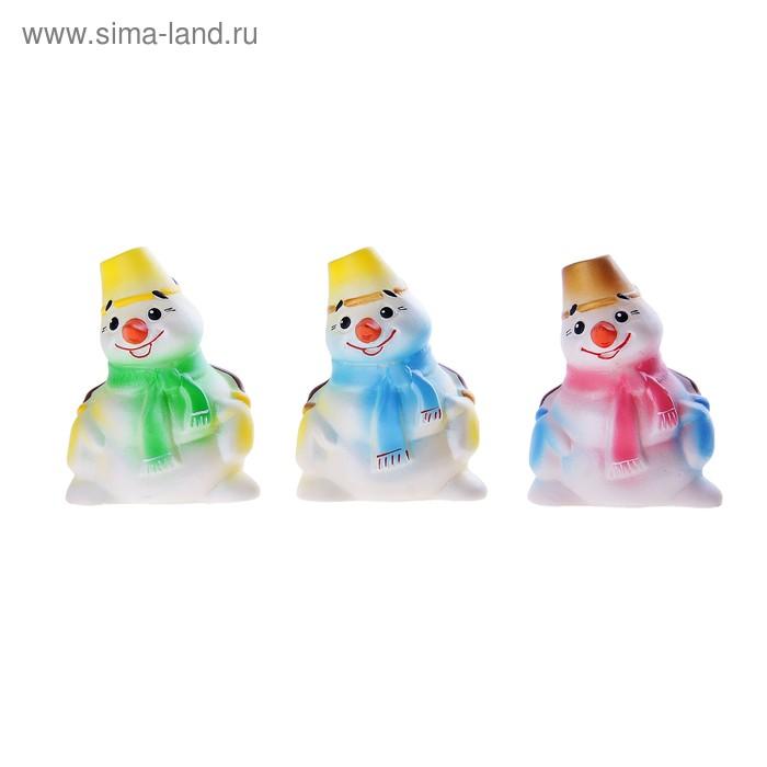 """Резиновая игрушка """"Снеговик"""", МИКС"""