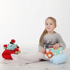 """Детские колготки со стразами """"Зайчик"""", XL/11-15 л. 136-164 см, 88% полиамид, 12% эластан"""