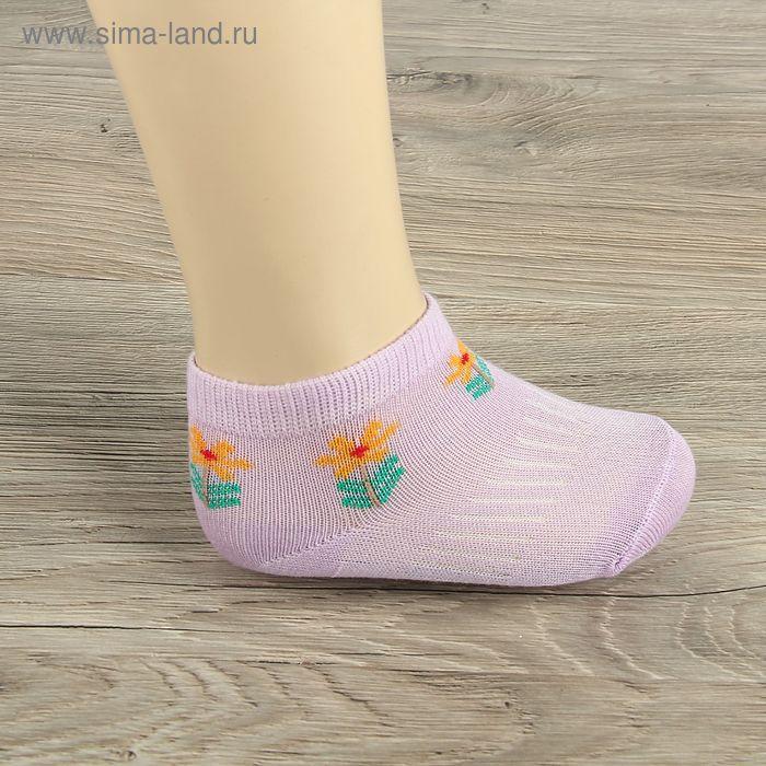 Носки детские Collorista Цветок, L/2-3 г., цвет микс