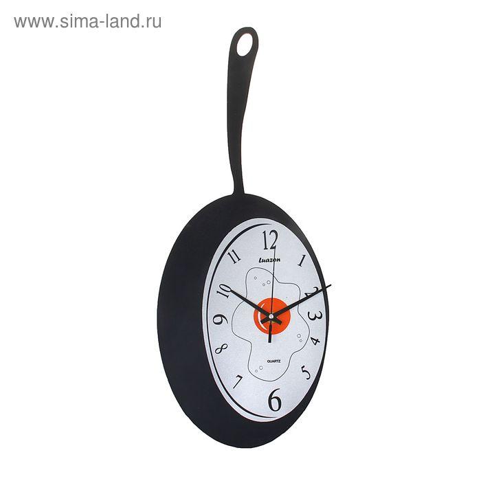 """Часы настенные кухонные """"Сковорода"""""""