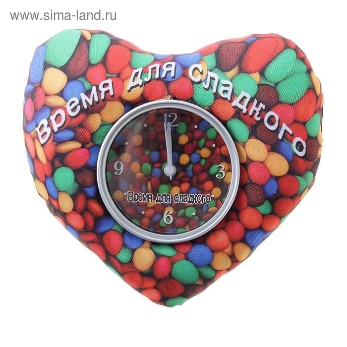 """Часы настольные """"Время для сладкого"""", магнит и подставка"""