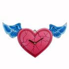 """Часы настенные интерьерные """"Серия Франсуаза. Сердце с крыльями"""""""