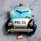 """Часы настенные детские с маятником """"Полиция"""""""