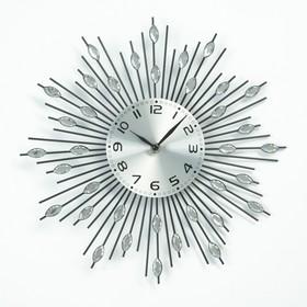"""Часы настенные интерьерные """"Лучики овальный"""""""