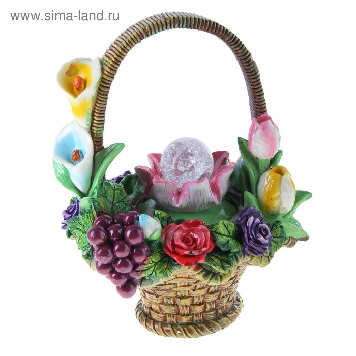 """Фонтан """"Фрукты и цветы"""""""