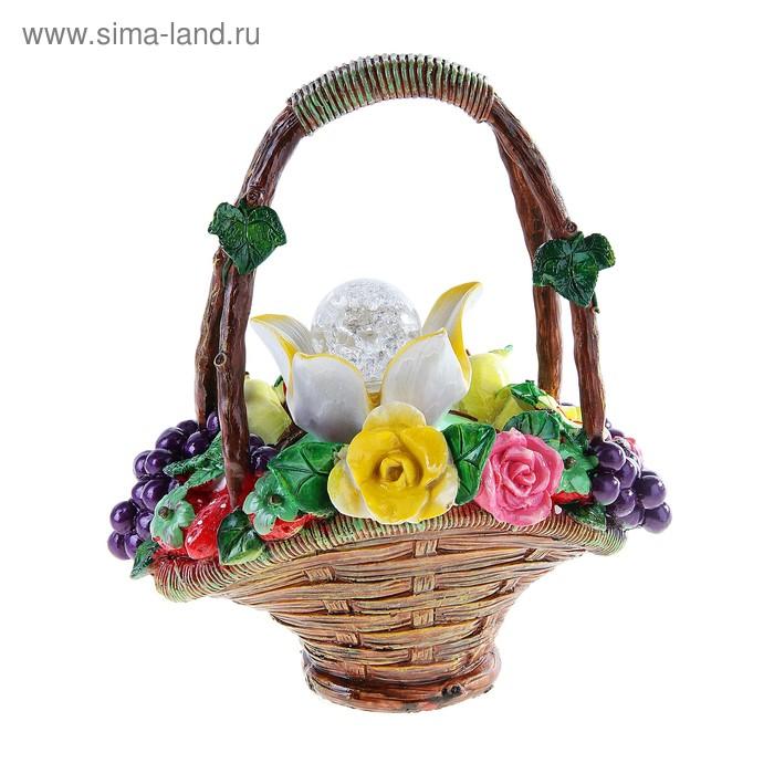 """Фонтан """"Цветы и виноград"""""""