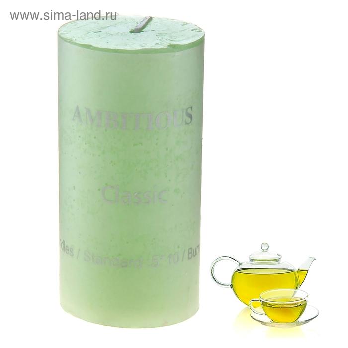 """Свеча """"Классика"""" большая, аромат зеленый чай"""
