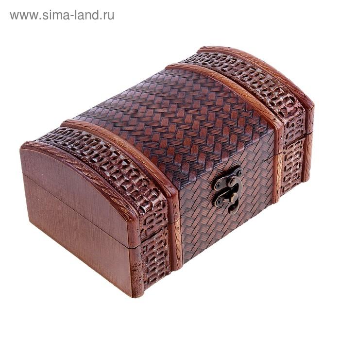 "Шкатулка Антиквар ""Плетёнка"""