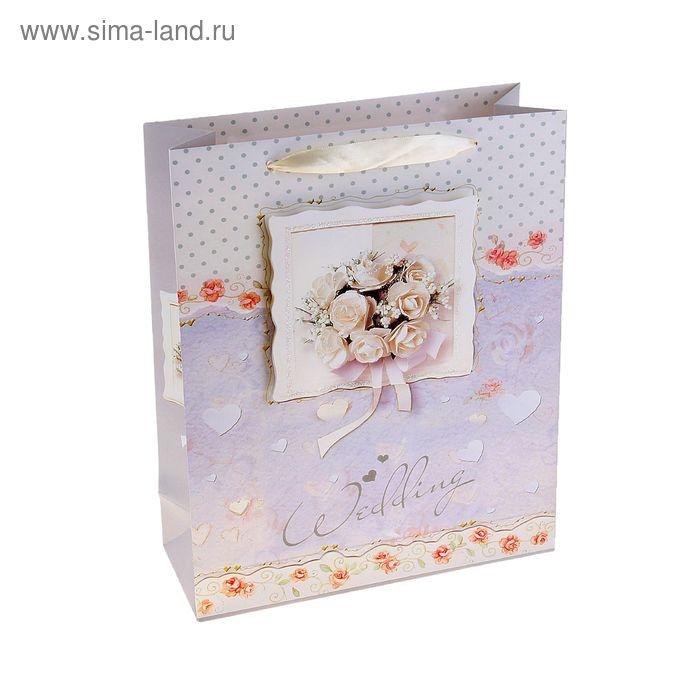 """Пакет ламинированный """"Букет невесты"""""""