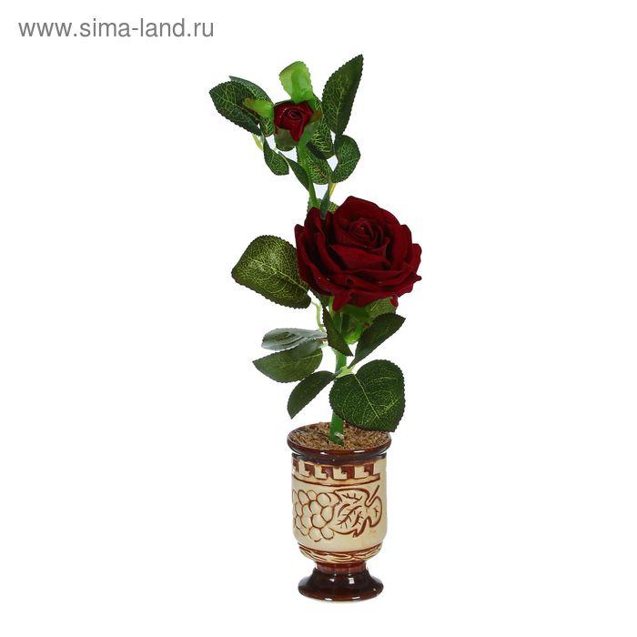 """Композиция """"Крупная роза"""" (микс)"""