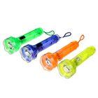 Фонарик ручной «Свет», 1 диод, zoom, рассеиватель, круглые батарейки в комплекте, микс
