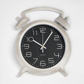 Часы настенные серия Ретро, в виде Будильника