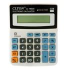 Калькулятор настольный 12-разрядный CL-1800S Clton двойное питание цвет МИКС