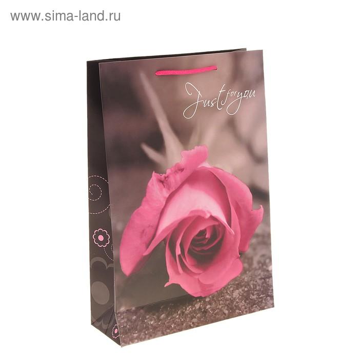 """Пакет ламинированный """"Роза для тебя"""""""