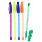 Ручка шариковая с рисунком МИКС стержень синий