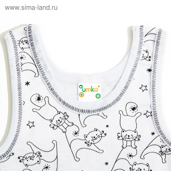 Майка для девочки, рост 134-140 (9-10 лет), цвета МИКС