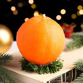 """Свеча новогодняя """"Апельсин крупный"""""""