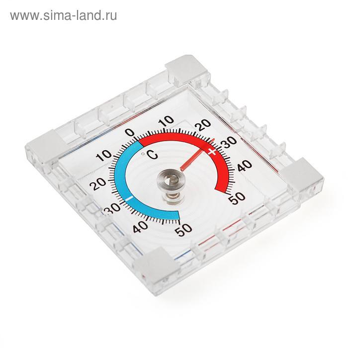 Термометр механический, уличный, квадратный, 8 × 8 см