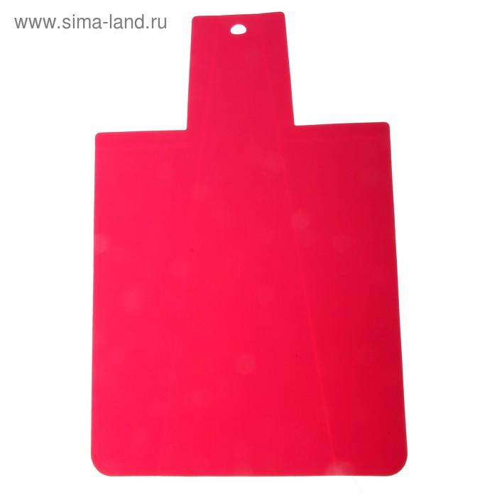 Доска разделочная противоскользящая гибкая, цвета МИКС