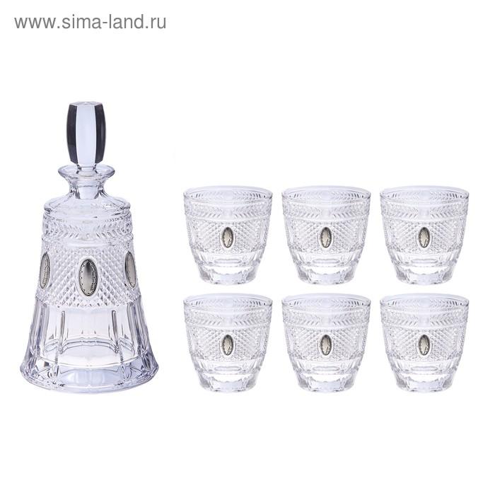 "Набор для виски ""Грани"" (графин, 6 бокалов 210 мл.)"