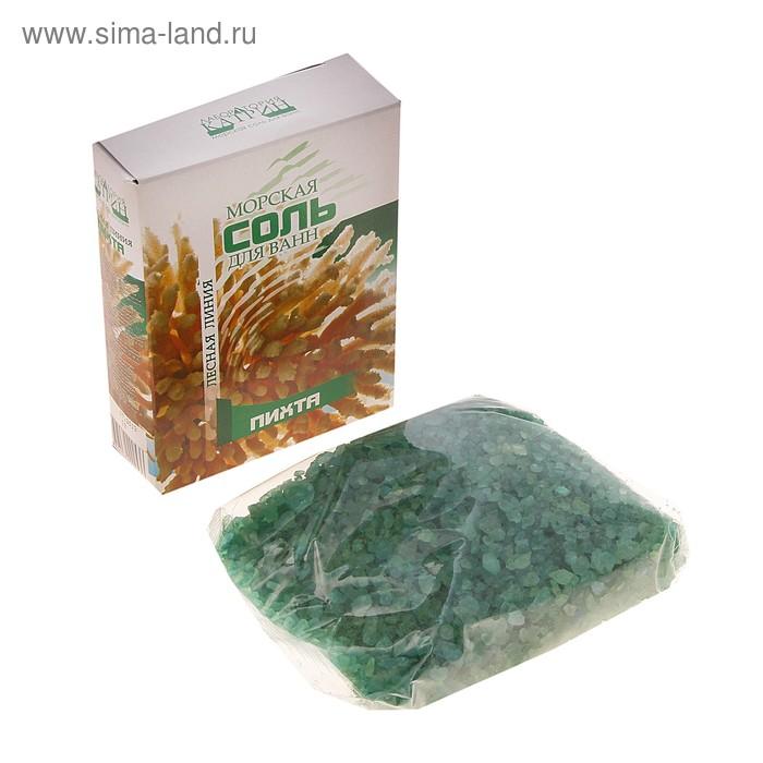 """Морская соль для ванн """"Пихта"""", в картонной коробке, 500 г"""