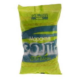 Морская соль для ванн, крупнокристаллическая, в пакете, 1 кг