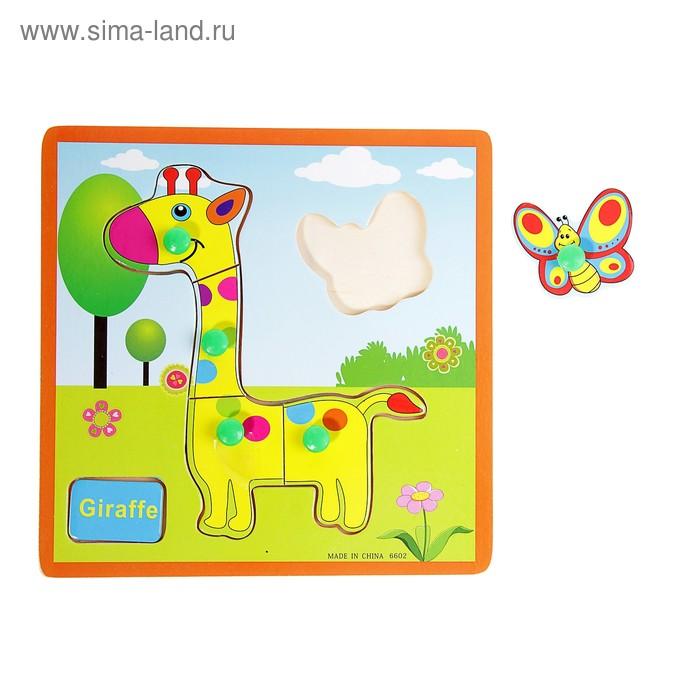 """Рамка-вкладыш малая """"Жирафик"""", 5 элементов"""