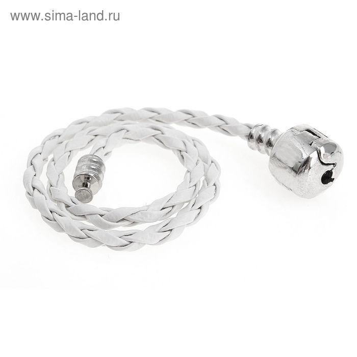 """Основа-браслет """"Businka"""" белый, 20см"""