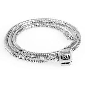Основа-ожерелье, 40см, цвет серебро
