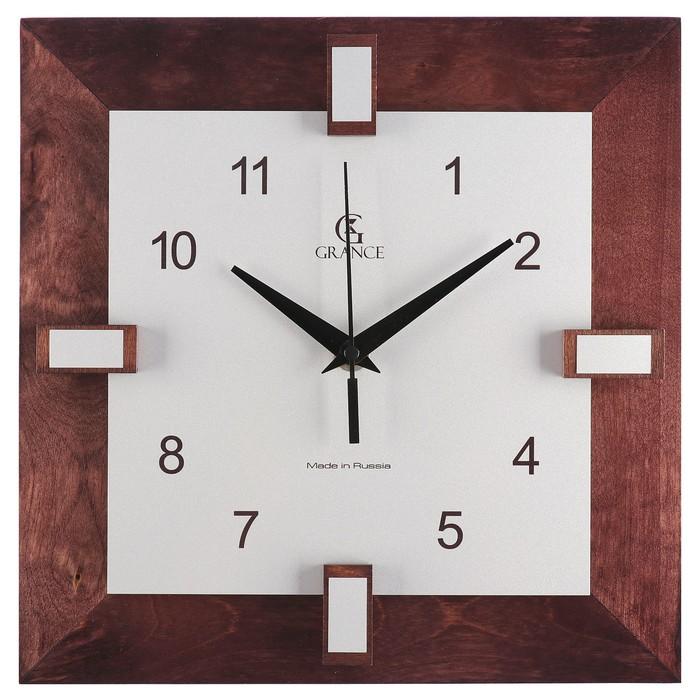 """Часы настенные """"Grance"""", цвет венге"""