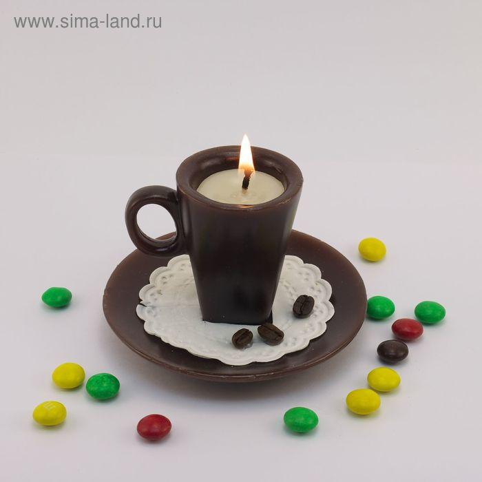 """Декоративная свеча """"Кофейная пара"""" 1шт"""