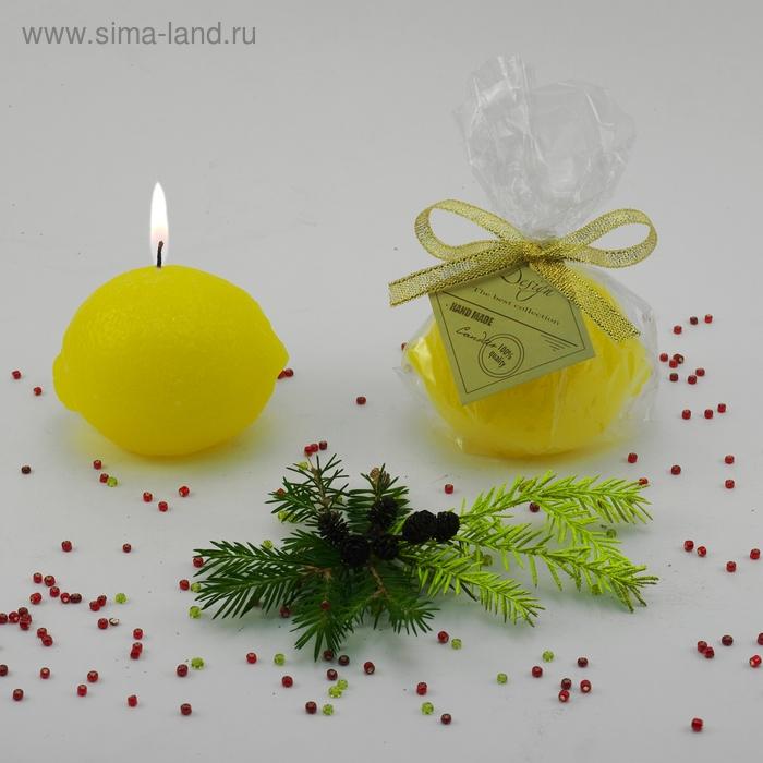"Декоративная свеча ""Лимон"" 1шт"