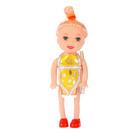 Кукла малышка с причёской, МИКС