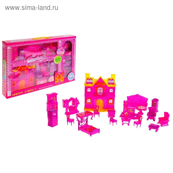 """Дом для кукол """"Роскошь"""" с мебелью"""