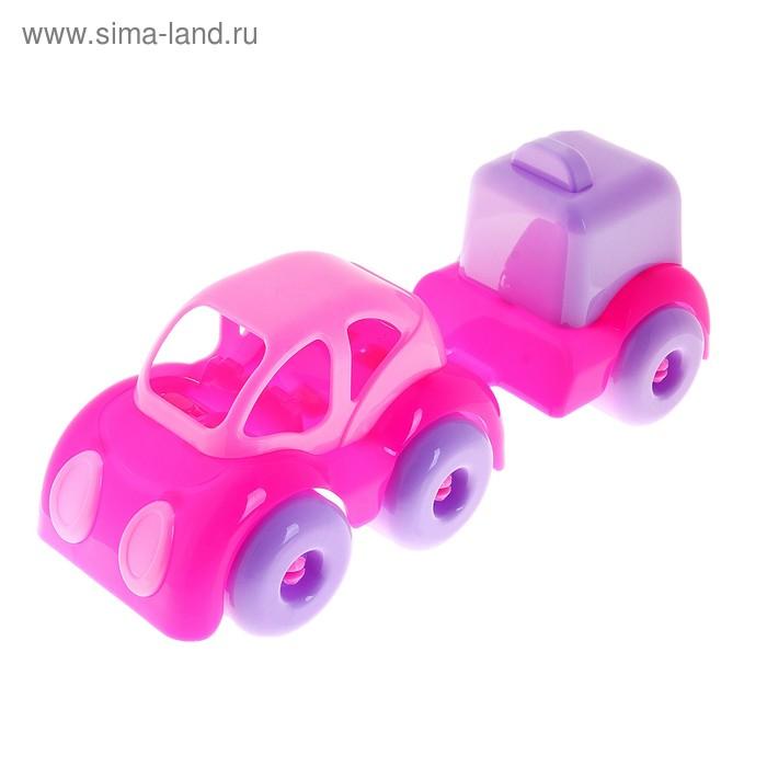 """Машинка """"Малышка"""" с фургоном"""