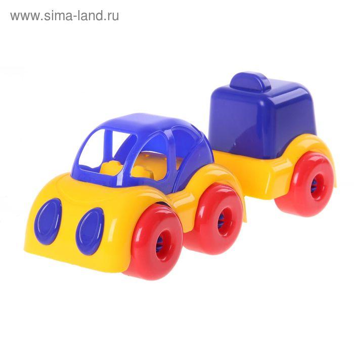 """Машинка """"Малышок"""" с фургоном"""