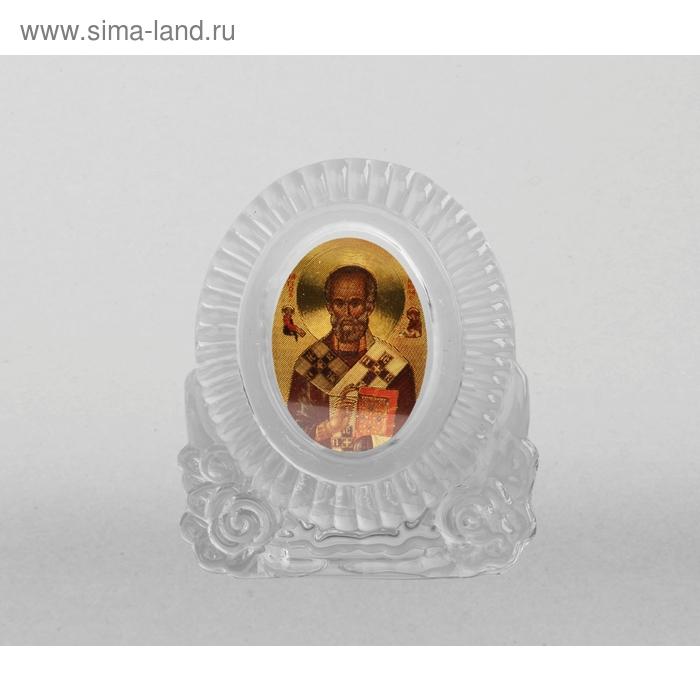 """Икона """"Николай Чудотворец"""" овал"""