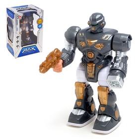 """Робот """"Сталкер"""", работает от батареек, световые и звуковые эффекты, цвета МИКС"""