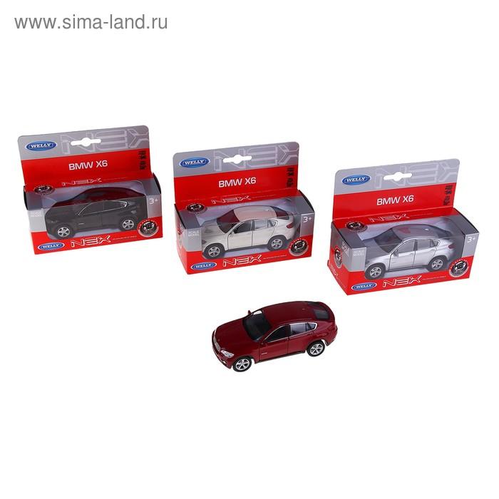 "Машина ""BMW X6"" 1:38, цвета МИКС"