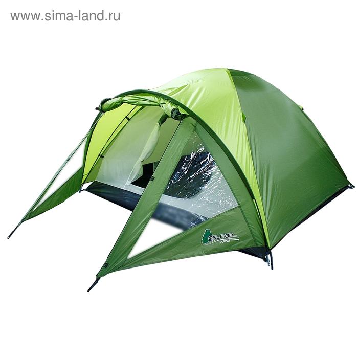 Палатка туристическая Ottawa 3-х местная, ткань рипстоп