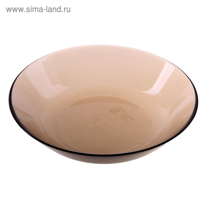 Тарелка суповая d=20 см Directoire Eclipse, цвет дымчатый