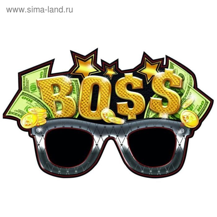 """Маска карнавальная """"Босс"""""""