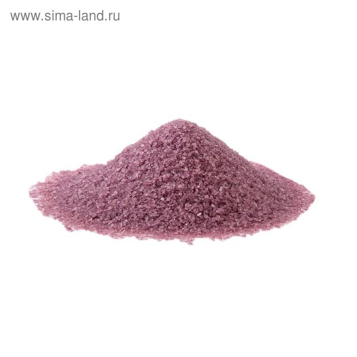 Песок сиреневый для декора 350 гр