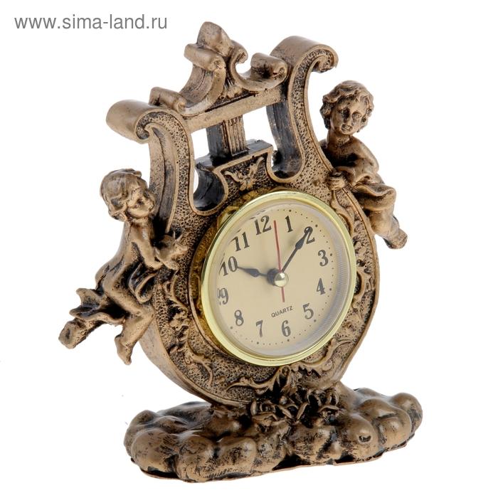 """Часы настольные """"Ангелы с арфой"""""""