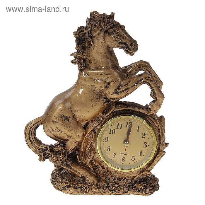 """Часы настольные """"Конь"""""""